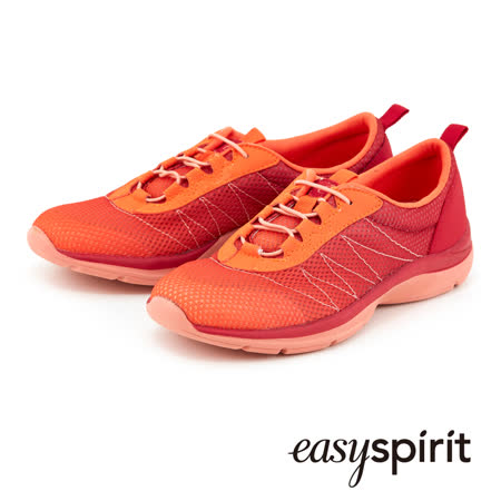 Easy Spirit 超輕量舒適漸層設計運動休閒鞋--漸層橘