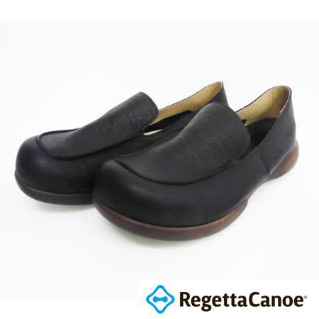 RegettaCanoe _(男款)R320M優雅樂步休閒鞋_經典黑