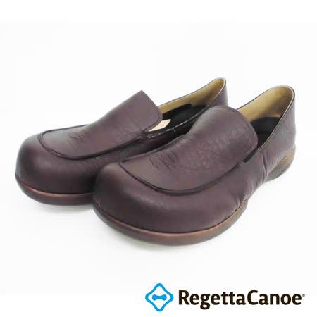 RegettaCanoe _(男款)R320M優雅樂步休閒鞋_深咖啡