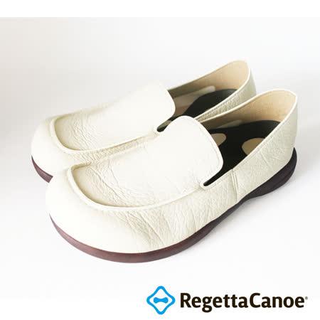 RegettaCanoe _(男款)R320M優雅樂步休閒鞋_象牙白