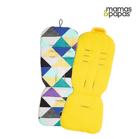 【Mamas & Papas】雙面推車座墊-香蕉金字塔
