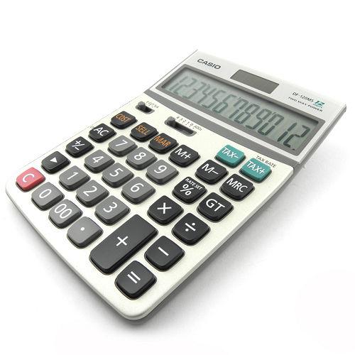 【CASIO】卡西歐(水晶)金融稅額計算機AEE-DF120BM
