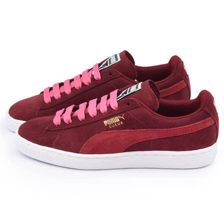 PUMA 女款Suede Classic Wn's 運動鞋355462-30-深紅