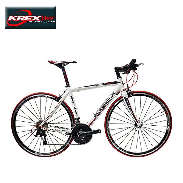 KREX SPEEDER R3.5 30速平把公路車 白