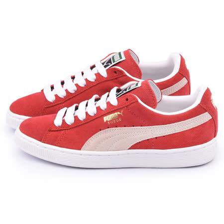 PUMA 男款 Suede Classic + 運動鞋352634-05-紅