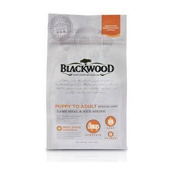 Blackwood柏萊富 功能性全齡護膚亮毛配方(羊肉+米) 犬糧 30磅 X 1包