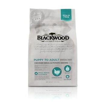 Blackwood柏萊富 無榖全齡低敏純淨 (雞肉+碗豆) 犬糧 5磅 X 1包