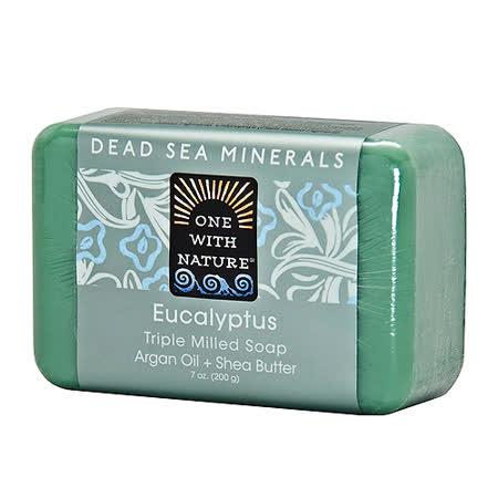 美國One With Nature死海礦物皂-尤加利Euc Soap