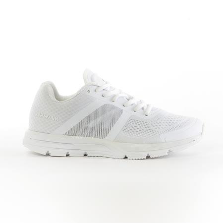 AIRWALK(男) - 穩走太空透氣記憶鞋墊慢跑鞋 - 白