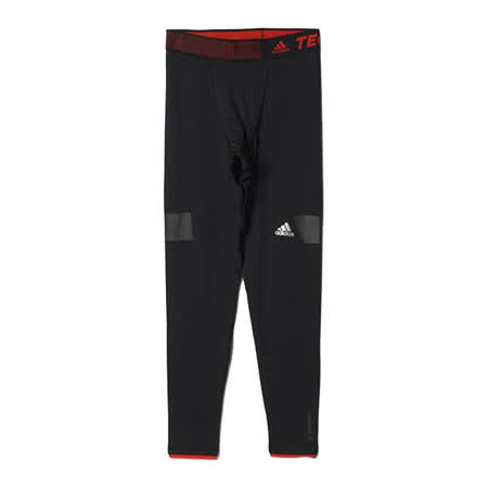 (男)ADIDAS TF CH TIGHT 2.0 緊身褲 黑-AC1892