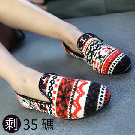 《JOYCE》異國民族風味懶人鞋-紅
