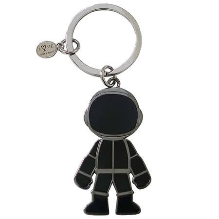 agnes b. 機器人造型鑰匙圈(黑色)