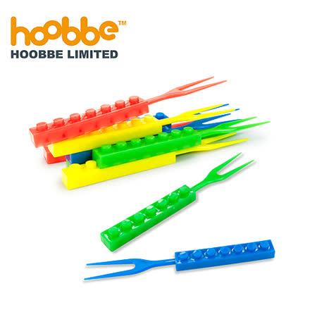 Hoobbe積木造型水果叉(24入)