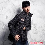 BOBSON 男款迷彩合身外套 (35031-42)