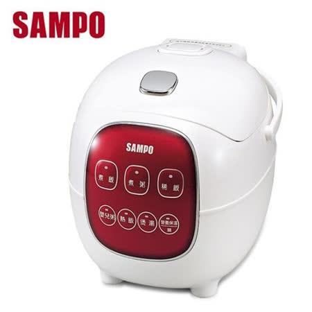 【勸敗】gohappy 線上快樂購【SAMPO聲寶】4人份微電腦電子鍋 KS-BF04M效果新光 三越 台中 店