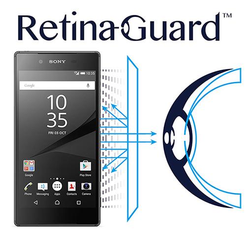 RetinaGuard 視網盾 Sony Xperia Z5 眼睛防護 防藍光保護膜