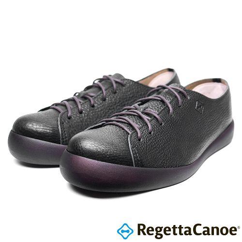 RegettaCanoe _^(男款^)CJFC~7105優雅樂步休閒鞋~ 黑