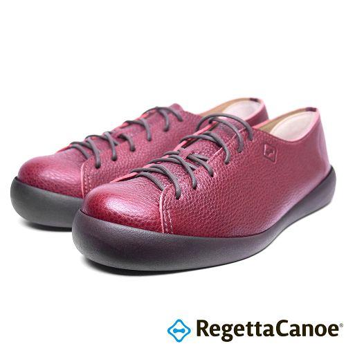 RegettaCanoe _^(男款^)CJFC~7105優雅樂步休閒鞋~磚紅色