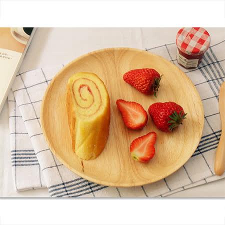 【Homely Zakka】木趣食光木質小碟(特大圓)