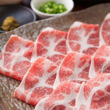 【極鮮配】梅花豬火鍋肉片-6盒入(200G/盒)