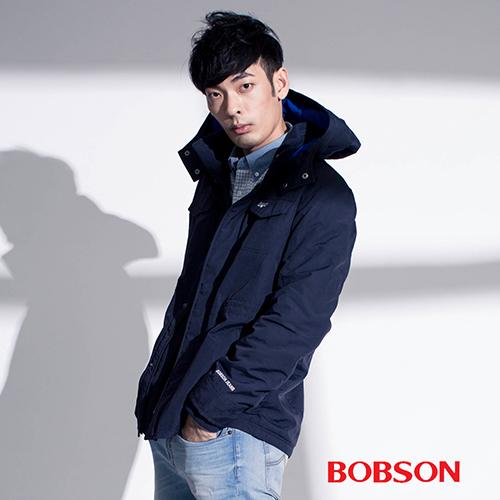 BOBSON 男款連帽防風外套 ^(35033~53^)