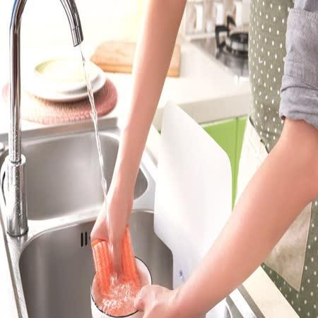 (廚房小幫手)水槽防濺擋板/擋水板(附吸盤)