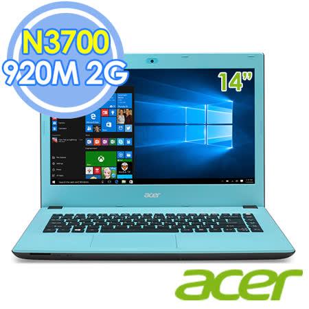 Acer E5-432G-P79Q 14吋 N3700 四核 2G獨顯 Win10 筆電–送acer環保筷+USB復古鐵製小桌扇