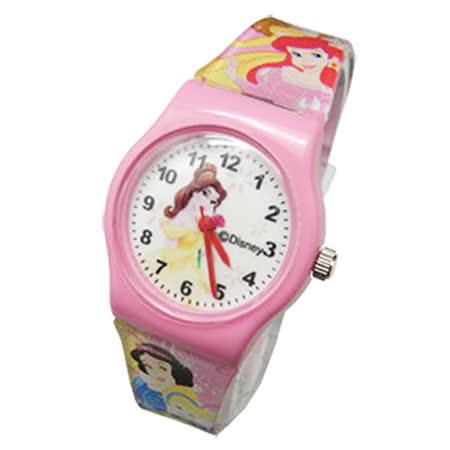 【Disney迪士尼】卡通錶(中)---煙花璀璨貝兒公主