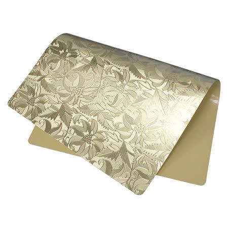 金黃色奢華貴氣防水餐墊/桌墊(1入)