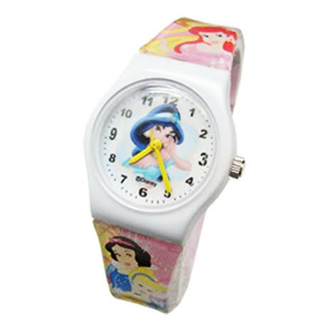 【Disney迪士尼】卡通錶(中)---優雅茉莉公主