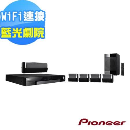 Pioneer先鋒 5.1聲道藍光家庭劇院 MCS-434送X-DS501+8G隨身碟