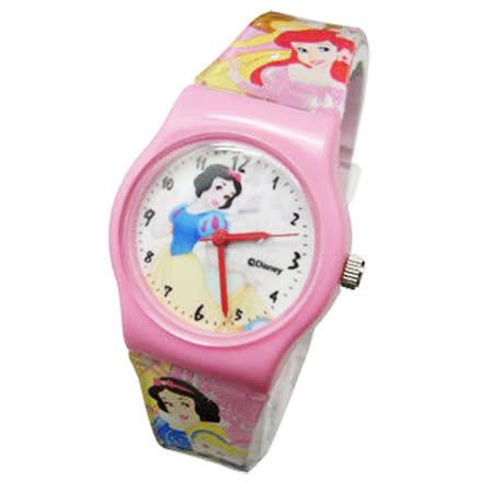【Disney迪士尼】卡通錶(中)---飄逸白雪公主