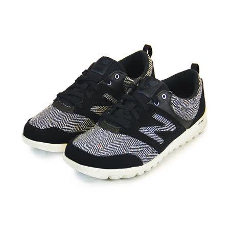 (女)NEW BALANCE 走路鞋 黑/白-WL315BH
