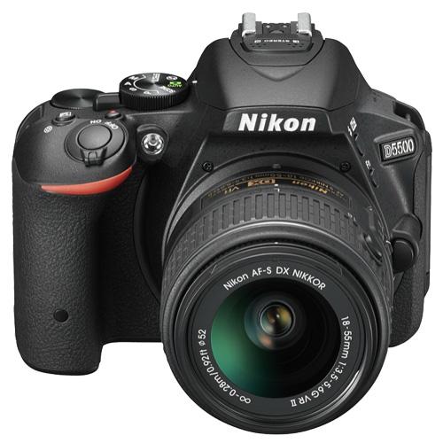 Nikon D5500 18-55mm 標準鏡組(公司貨)-原廠減壓背帶+六件式清潔組+拭鏡筆