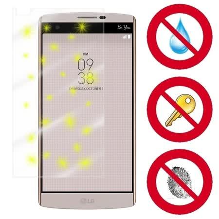 D&A LG V10 (5.7吋)電競專用5H螢幕保護貼(NEW AS玻璃奈米)