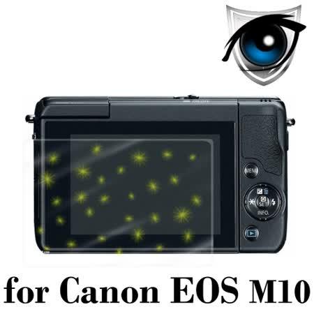 D&A Canon EOS M10 相機專用日本9抗藍光疏油疏水增豔螢幕貼