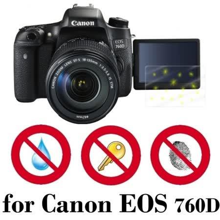 D&A Canon EOS 760D 相機專用日本原膜5H螢幕保護貼(NEW AS玻璃奈米)