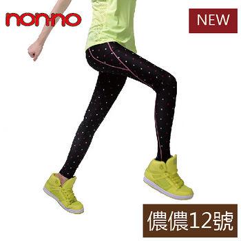 NON-NO 運動壓力褲-點點款(M~L/L~XL)