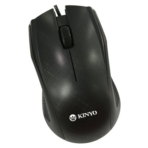 KINYO USB光學滑鼠KM~733