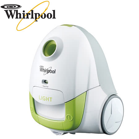 Whirlpool惠而浦 可水洗長效型集塵袋吸塵器(VCT3801G)