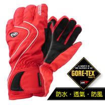 【德國 ZIENER】最新超薄 探險家 Gore-Tex 耐磨防水透氣手套(僅140g_保暖暢銷款)_紅 AR-42