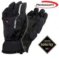 【德國 ZIENER】最新款 探險家 Gore-Tex + Primaloft 耐磨防水透氣手套(僅140g_保暖暢銷款)_黑 AR-62