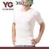 YG純棉羅紋圓領短袖內衣(M~XL)