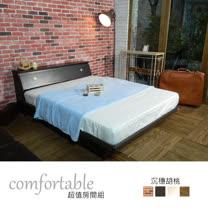 HAPPYHOME 艾麗卡床箱型2件房間組-床箱+掀床1WG5-12W四色可選-不含床墊-床頭櫃