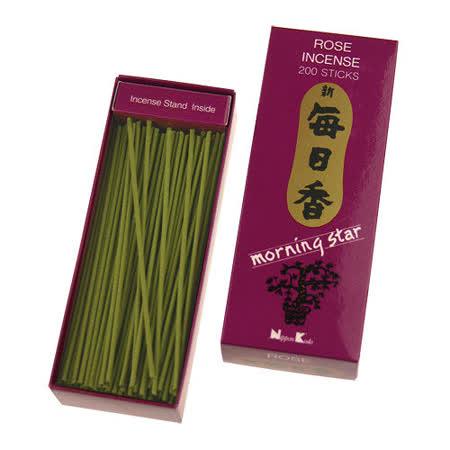 【任選】Nippon Kodo 日本香堂 新每日香系列線香200支(玫瑰)