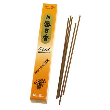【任選】Nippon Kodo 日本香堂 嚴選每日香系列線香30支(琥珀)