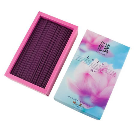 【Nippon Kodo 日本香堂】 花風系列線香大盒裝(蓮花)