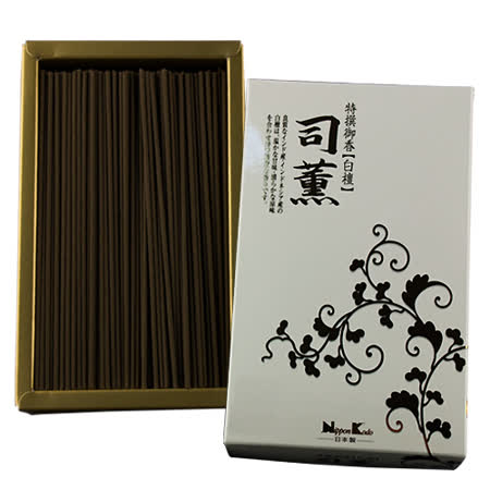 《日本香堂Nippon Kodo》 特撰御香-司薰系列線香【白檀】