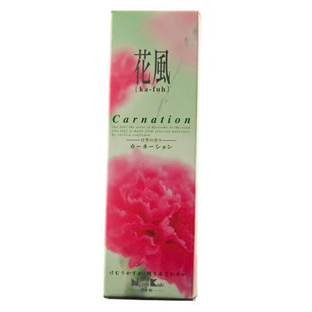 【任選】Nippon Kodo 日本香堂 花風系列線香120支(康乃馨)