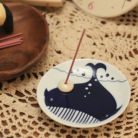 日本有田燒 鯨魚 和風香皿組